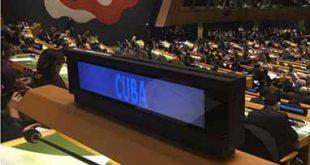 Cuba, ONU, Estados Unidos