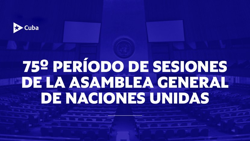La isla intervendrá en el Debate General y en los eventos de  alto nivel que tendrán lugar.