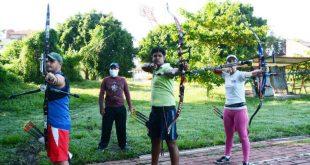 sancti spiritus, tiro con arco