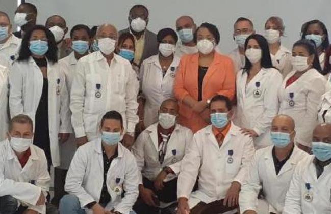 cuba, haiti, medicos cubanos, contingente henry reeve, covid-19, coronavirus