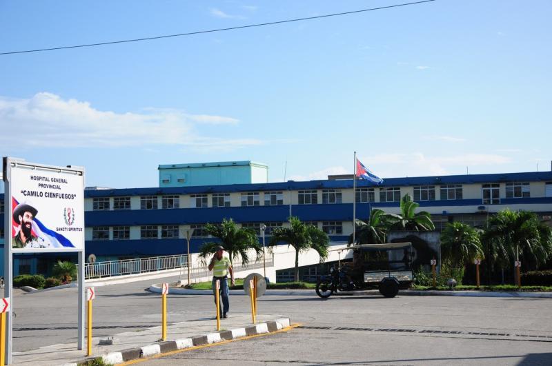 sancti spiritus, coronavirus, hospital provincial camilo cienfuegos, covid-19, salud publica