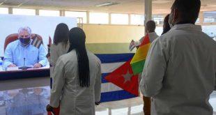 cuba, miguel diaz-canel, guinea conakry, contingente henry reeve, medicos cubanos, pandemia mundial