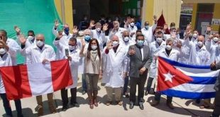 cuba, peru, medicos cubanos, contingente henry reeve, pandemia mundial, covid-19