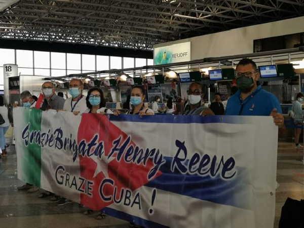 cuba, contingente henry reeve, medicos cubanos, covid-19