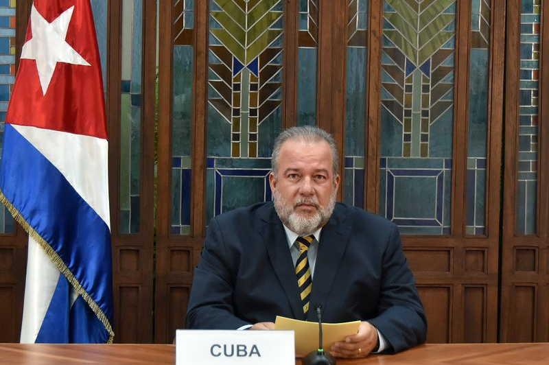 cuba, onu, asamblea general de la onu, covid-19, coronavirus, manuel marrero, primer ministro de cuba