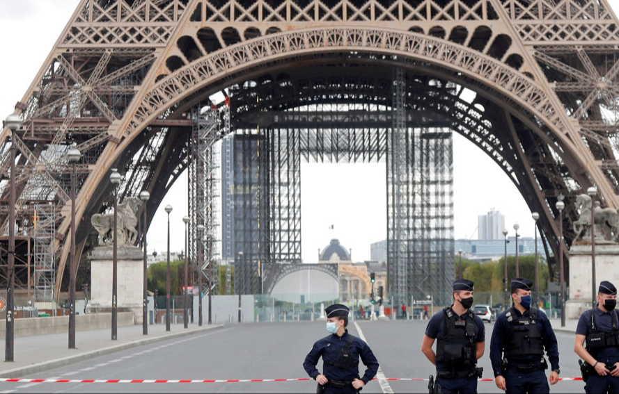 francia, bomba, torre eiffel