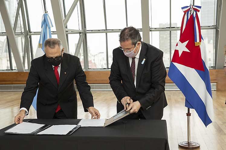 El acuerdo renueva uno anterior abocado al trabajo conjunto en  diversas áreas. (Foto: PL)