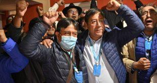 Bolivia, elecciones, MAS, Luis Arce