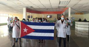 Cuba, haití, Colaboración médica, COVID19