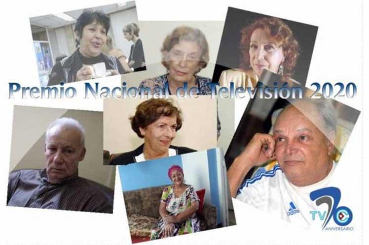 La entrega del lauro coincide en fecha con el aniversario 70 de la fundación de la televisión cubana. (Foto: PL)