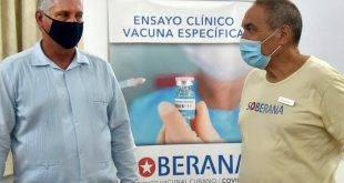 Vacuna, Covid-19, Soberana 01, Díaz-Canel