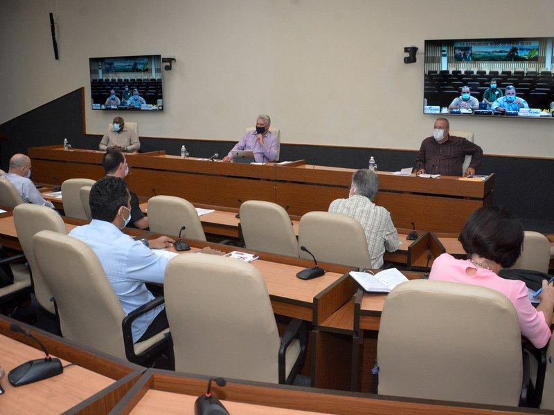En el encuentro se abogó por cumplir los protocolos con responsabilidad en el enfrentamiento a la COVID-19. (Foto: Estudios Revolución)