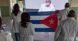 Cuba, Martinica, Colaboración médica, Díaz-Canel