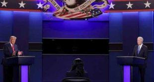 Estados Unidos, elecciones, debate, Donald trump, Joe Biden