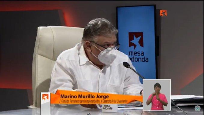Murillo durante su intervención en la Mesa Redonda este martes.