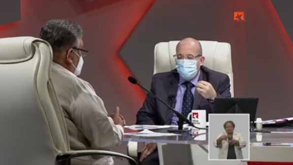 Marino Murillo Jorge, Jefe de la Comisión de Implementación de los Lineamientos, intervino nuevamente en la Mesa Redonda.