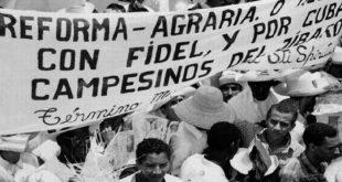 Reforma agraria, tierras, Cuba, Estados Unidos