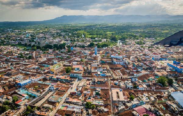 Los tejados distinguen el paisaje del centro histórico urbano. (Foto: Garal)