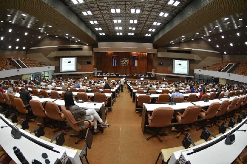cuba, parlamento cubano, asamblea nacional del poder popular, economia cubana, covid-19, miguel diaz-canel bermudez, raul castro