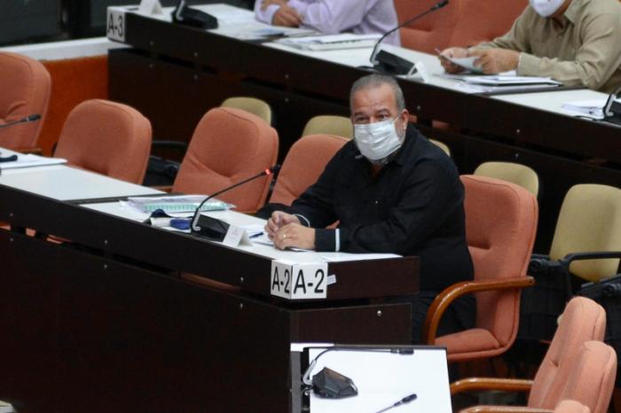 cuba, asamblea nacional, parlamento cubano, manuel marrero, covid-19