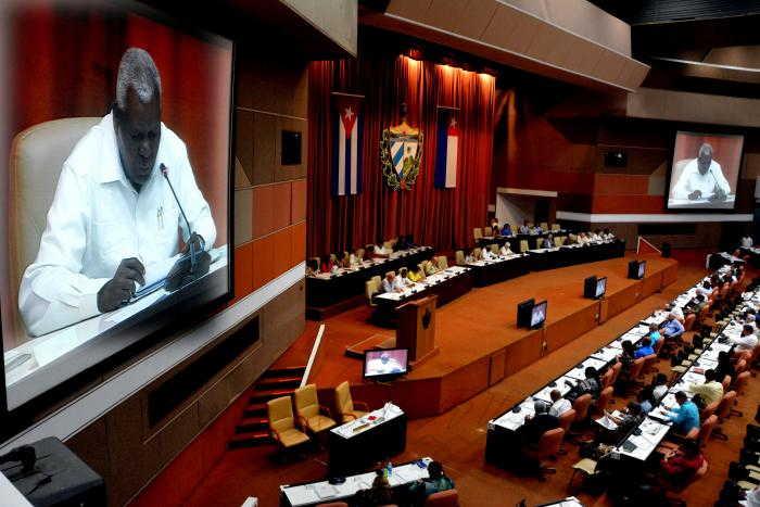 cuba, asamblea nacional, parlamento cubano, esteban lazo