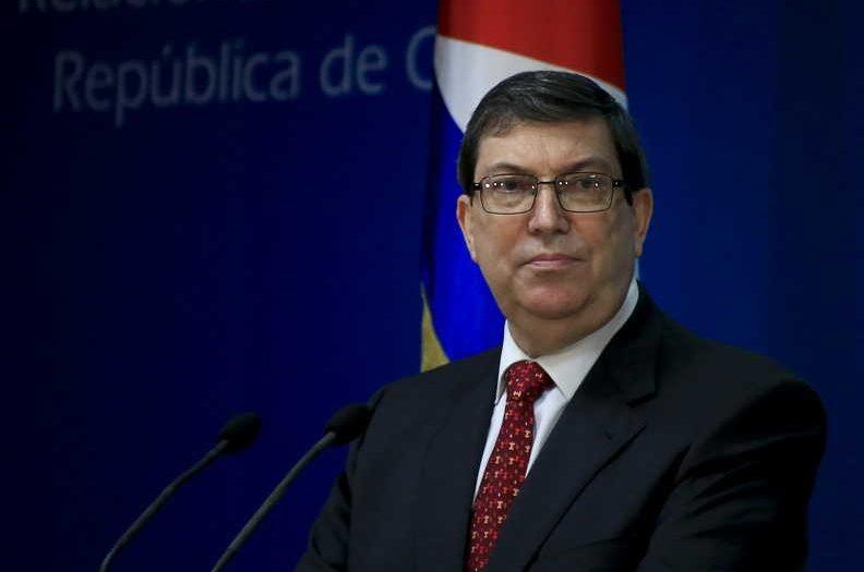 cuba, bloqueo de eeuu a cuba, bruno rodriguez, relaciones cuba-estados unidos, canciler cubano