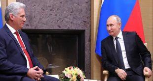 Cuba, Rusia, Díaz-Canel, Vladimir Putin