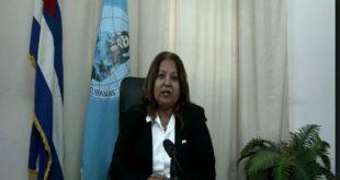 Cuba, ONU, Mujeres, FMC, Teresa Amarelle