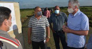 villa clara, miguel diaz-canel, presidente de la republica de cuba, visita gubernamental