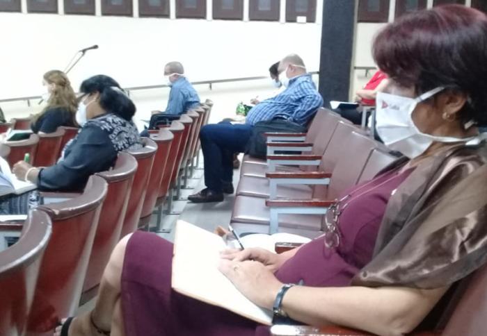 cuba, sancti spiritus, asamblea nacional del poder popular, parlamento cubano, covid-19, coronavirus, salud publica