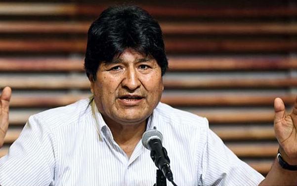 Evo Morales emprende camino de regreso a Bolivia