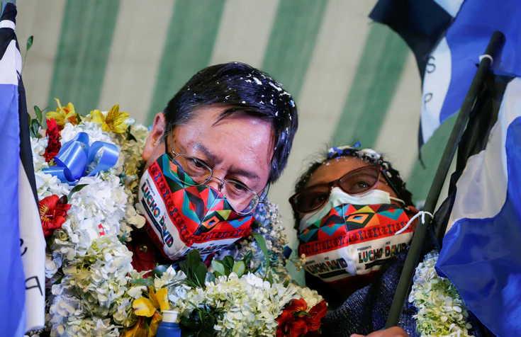 bolivia, mas, luis arce, bolivia elecciones