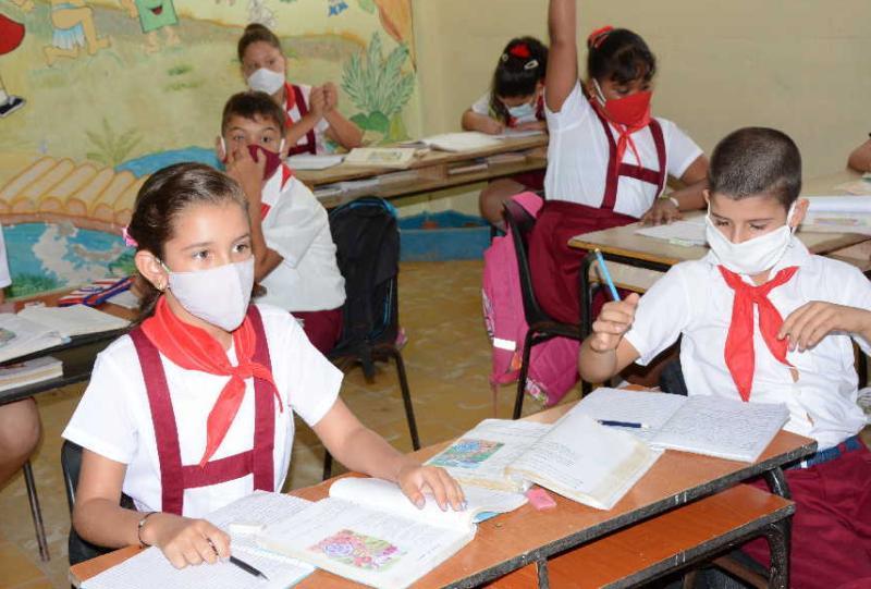 Hasta la fecha los niveles  educativos han avanzado en la conclusión de sus evaluaciones finales.