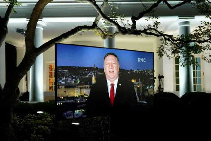 estados unidos, mike pompeo, donald trump