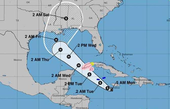 cuba, meteorologia, temporada ciclonica, tormenta tropical