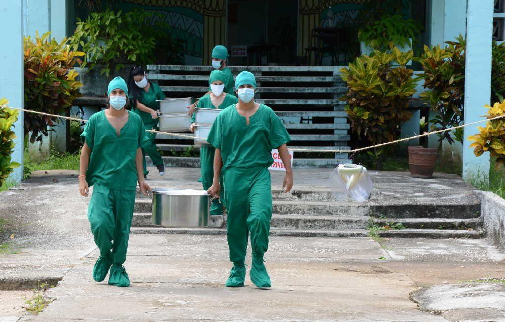sancti spiritus, covid-19, centros de aislamientos, universidad de sancti spiritus jose marti, coronavirus, salud publica
