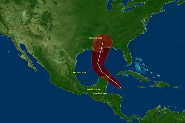Zeta resulta la vigesimoséptima tormenta tropical de esta temporada ciclónica.