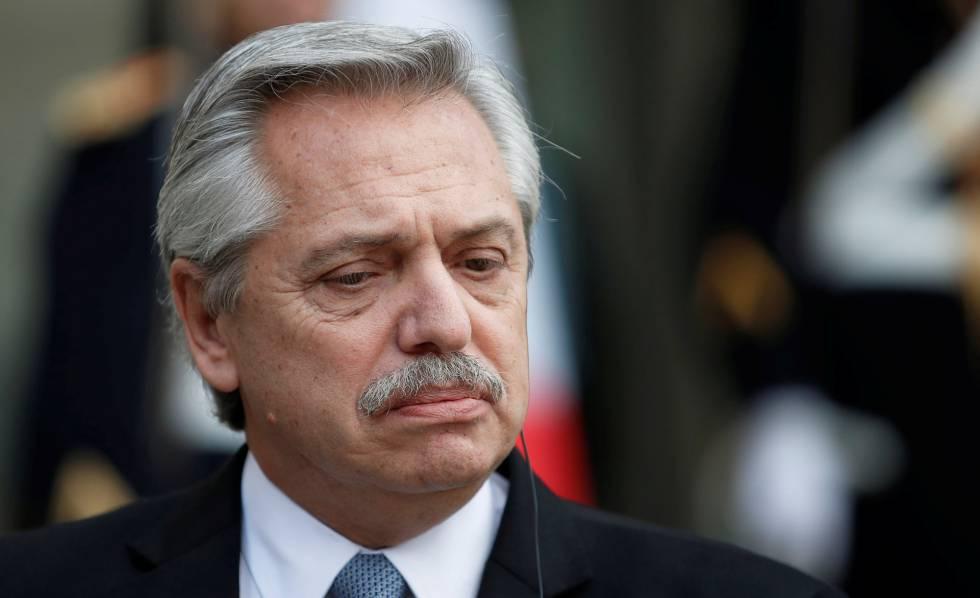El mandatario argentino calificó de inhumano cómo en plena pandemia se sometió a pueblos como los de Venezuela y Cuba a duro bloqueo. (Foto: Reuters)