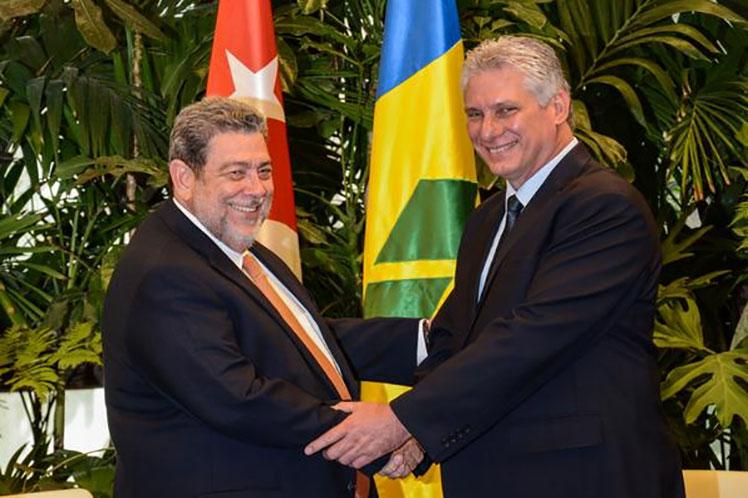 'Continuaremos fortaleciendo nuestras ya históricas relaciones bilaterales', aseguró Díaz-Canel en su mensaje. (Foto: Archivo PL)