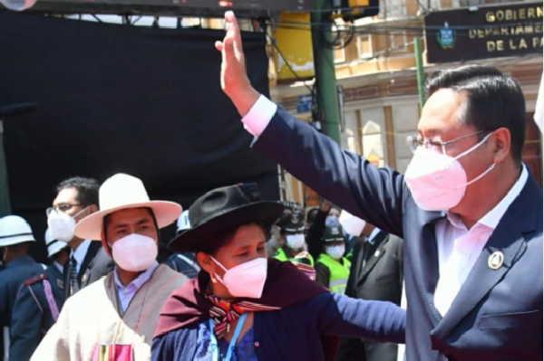 cuba, bolivia, luis arce, miguel diaz-canel, presidente de la republica de cuba