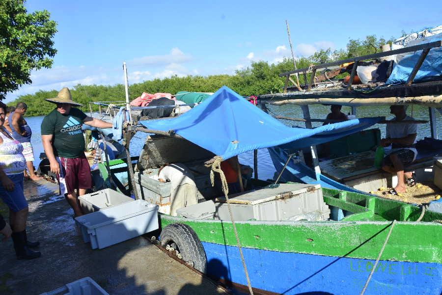 cuba, ismet, tormenta tropical, desastres naturales, ciclones, huracanes, defensa civil, tunas de zaza, pesca, embarcaciones pesqueras
