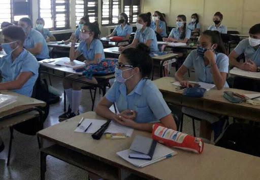La prueba de Matemática el 3 de diciembre abrirá las comprobaciones. (Foto: Escambray)