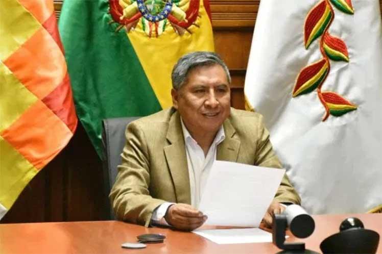 El anuncio fue realizado por Rogelio Mayta, ministro de Relaciones Exteriores de Bolivia. (Foto: PL)