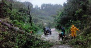 sancti spiritus, empresa electrica, organizacion basica elecrica, tormenta tropical eta, desastres naturales, intensas lluvias, consejo de defensa, topes de collantes