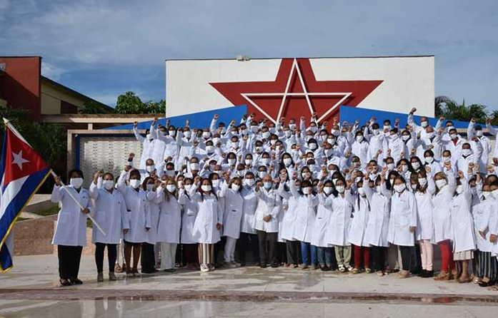 cuba, azerbaiyan, coronavirus, contingente henry reeve, covid-19, salud publica