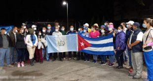 cuba, guatemala, contingente henry reeve, medicos cubanos, guatemala, tormenta tropical iota, desastres naturales
