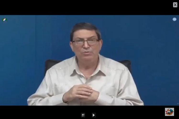 El canciller cubano denunció lo que denominó nuevo reparto imperialista del mundo entre plataformas globales dueñas de las redes digitales. (Foto: PL)