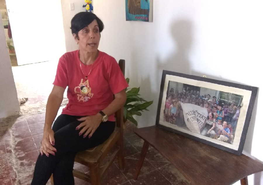 """""""Amo este proyecto como a mi Jarahueca querida"""", asegura Martha Julia Hernández Camellón."""