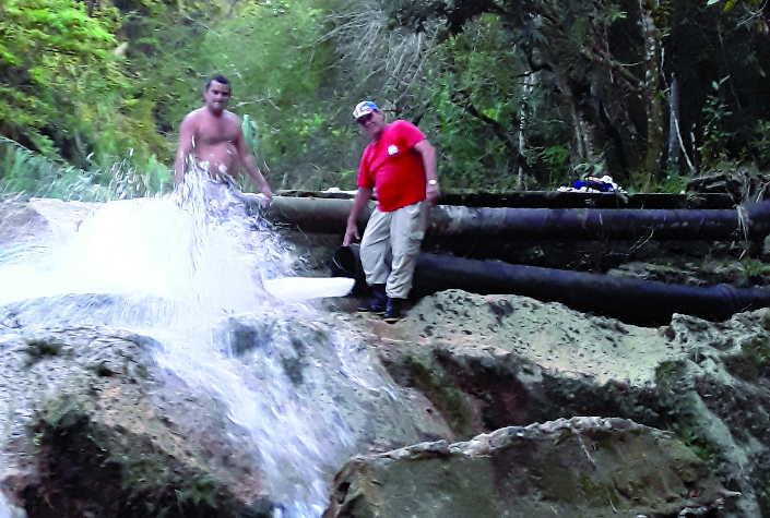 trinidad, conductora san juan de letran, recursos hidraulicos, abasto de agua, intensas lluvias en sancti spiritus, tormenta tropical eta, acueducto