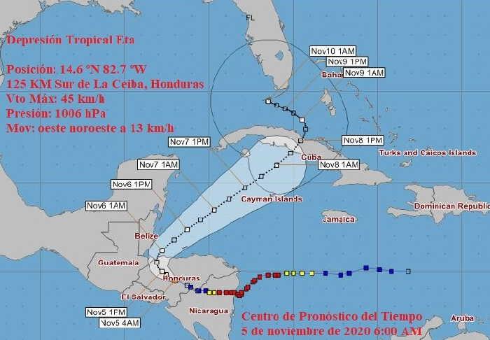 cuba, ismet, tormenta tropical, desastres naturales, ciclones, huracanes, defensa civil,